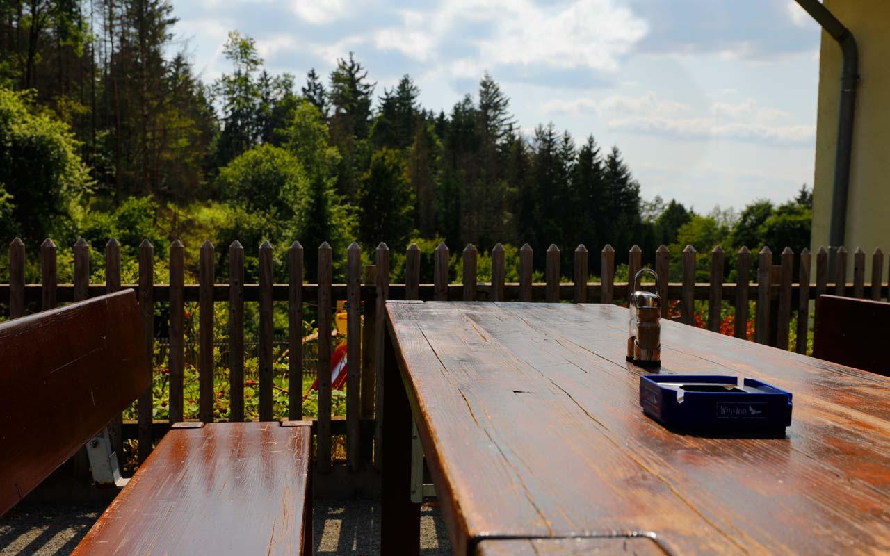Biergarten Mit Ausblick Gasthof Bauernhannla