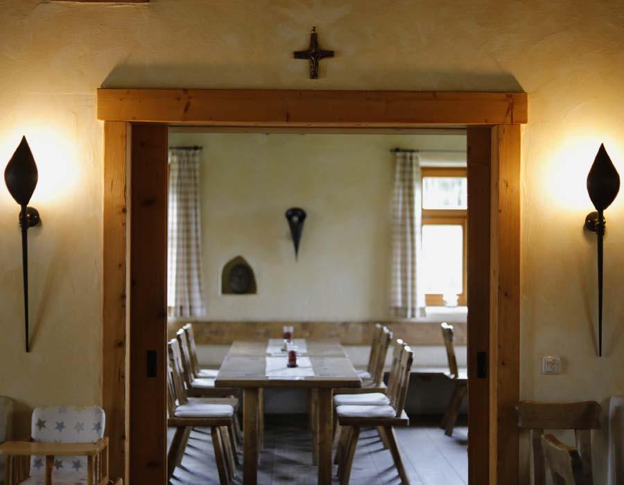 Separater Gastraum Gasthof Bauernhannla