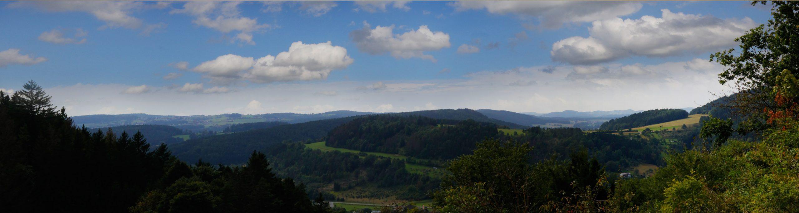Panoramablick Vom Gasthof Bauernhannla